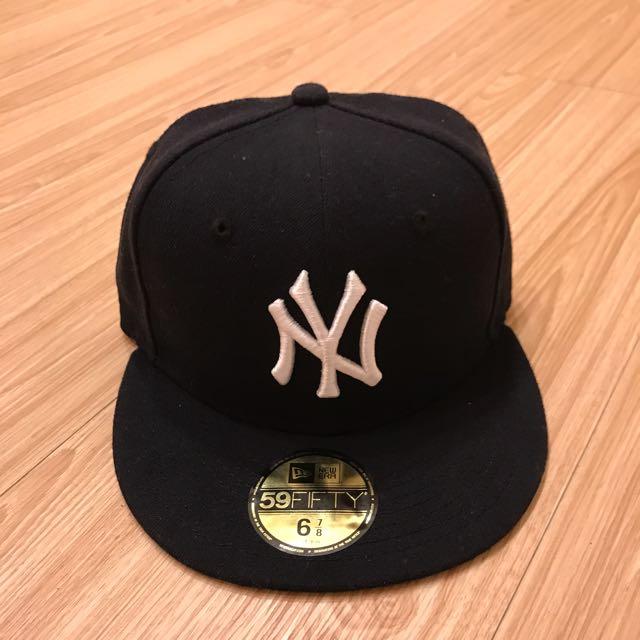 全新黑色New Era 洋基Yankess帽