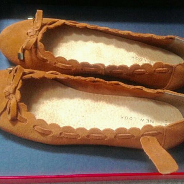 New Look Original Flat Shoes Brown