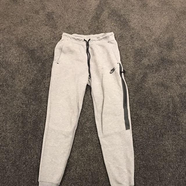 NIKE Grey Sweatpants with Black Trim