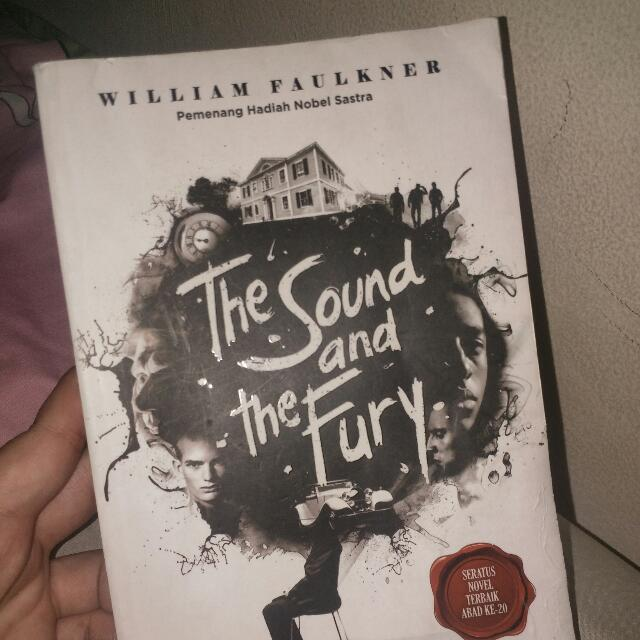 "novel ""The sound and the fury"""