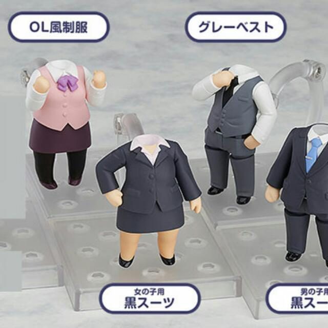 (Instock) Nendoroid More Suits 6Pack Box - Female