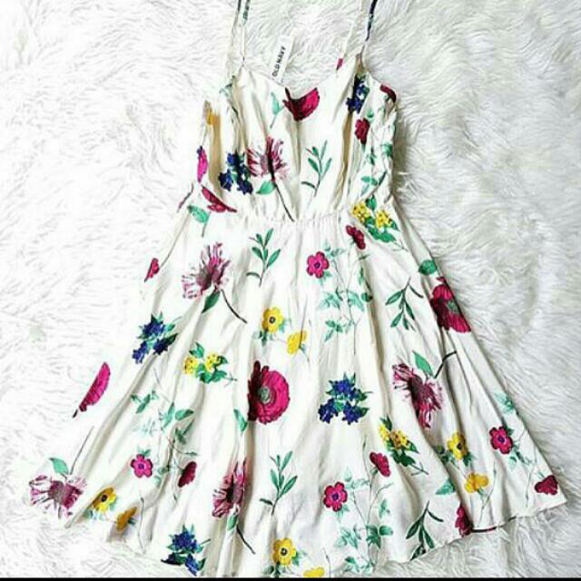 [OLD NAVY] White Flower-ORI!!!