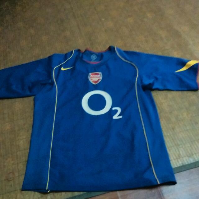 wholesale dealer 16235 6645a Original Arsenal 2004 Away Kit