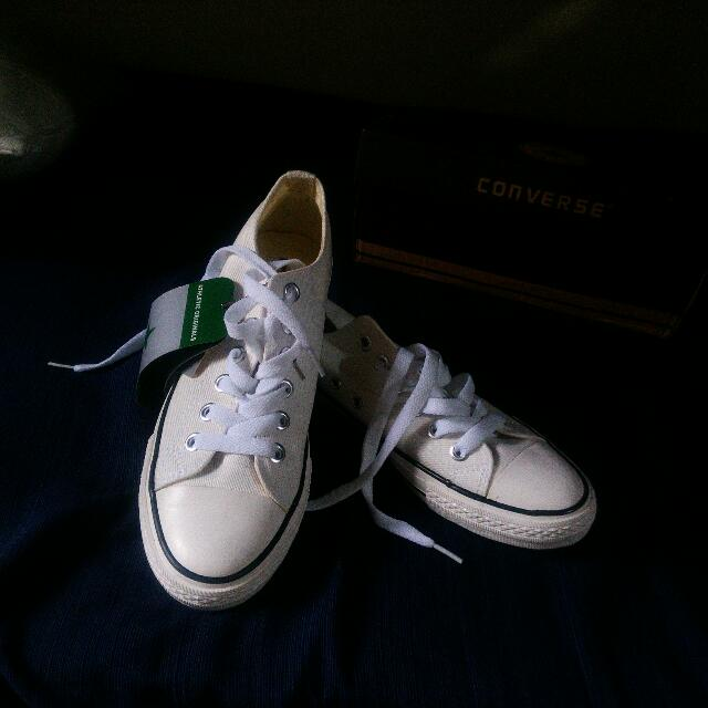 Authentic White Converse