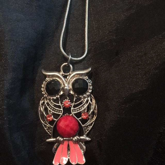 Owl Necklace (long)