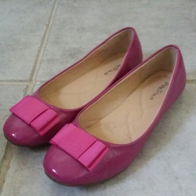 Paprika Pink Flats