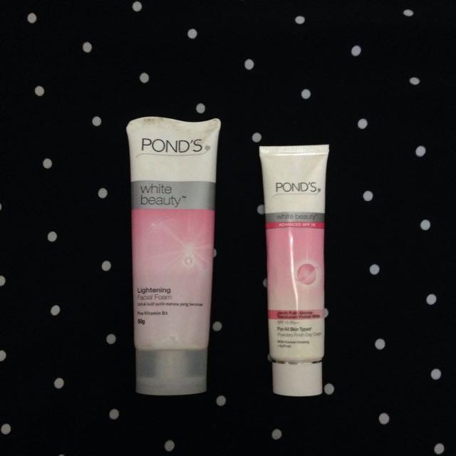 Ponds  Lightening Facial Foam White Beauty