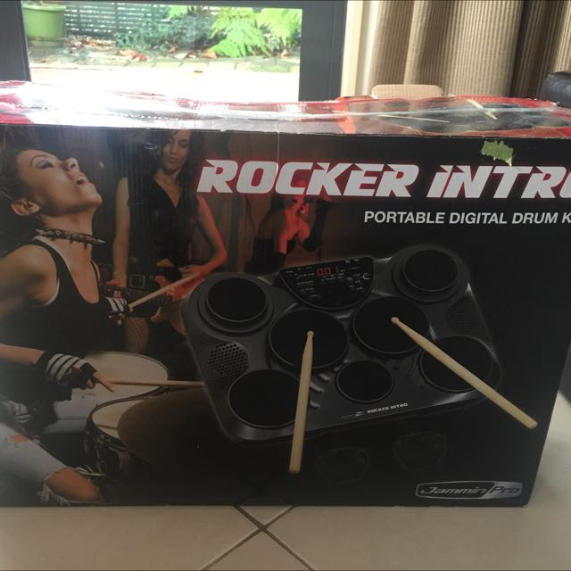 Portable Digital Drum Kit