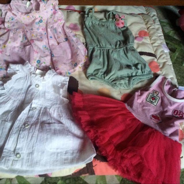 Preloved Dress For 6-9months