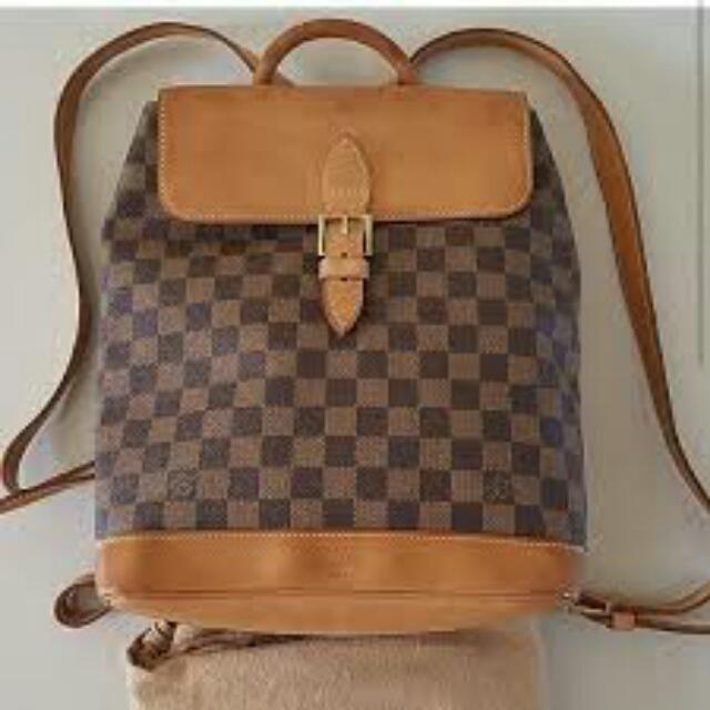Preloved LV Vintage Backpack