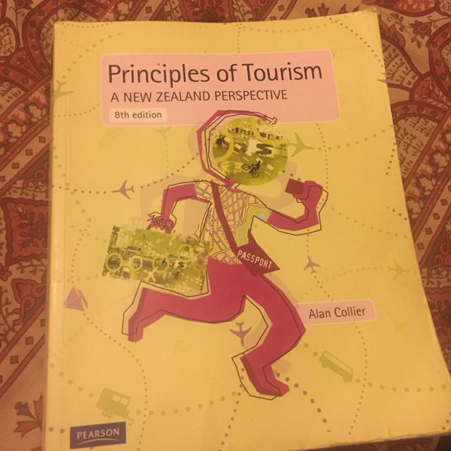 Principles Of Tourism Textbook