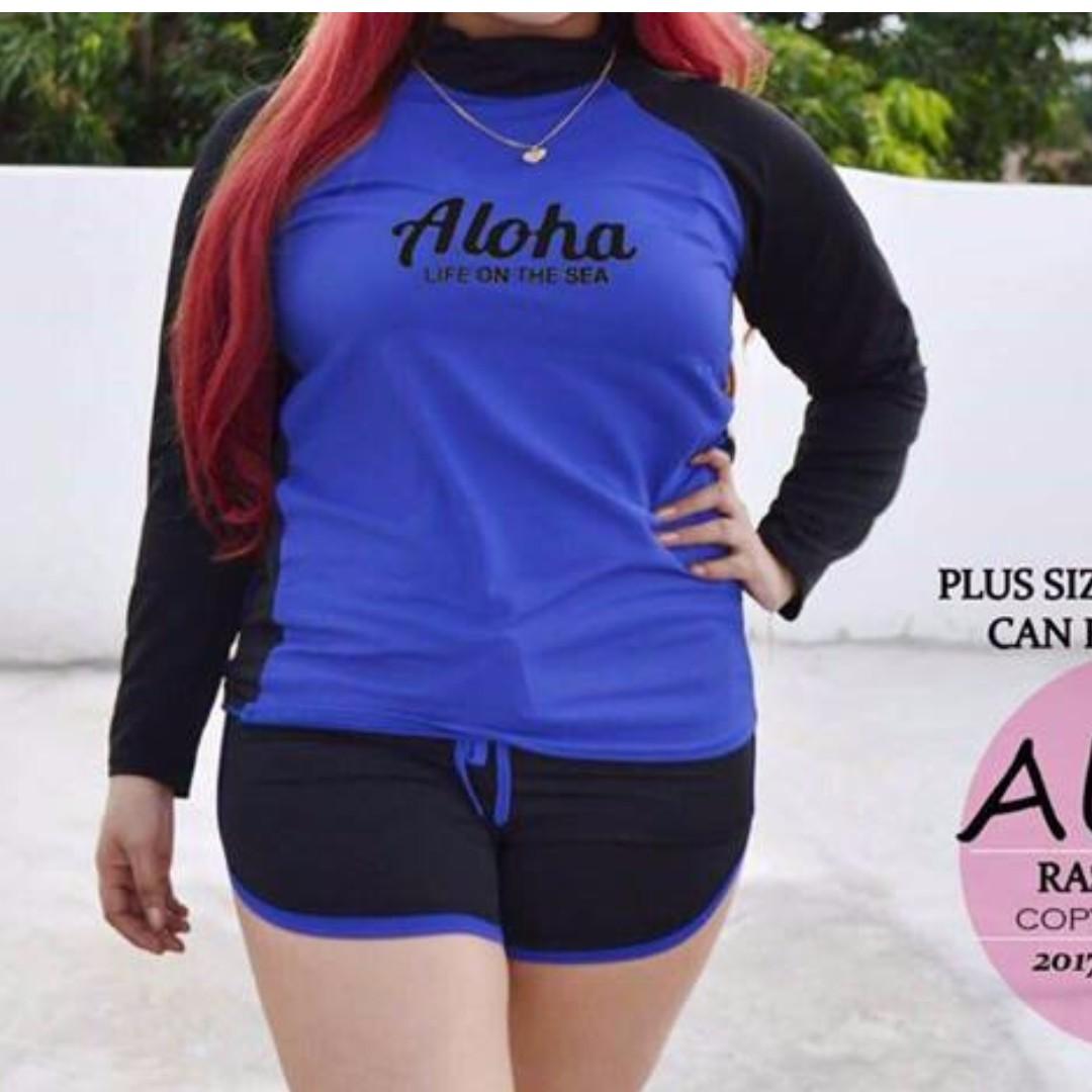 RashGuard Aloha +size