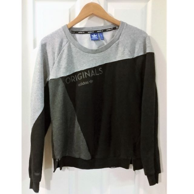 Retro Vintage ADIDAS Sweatshirt Size Small