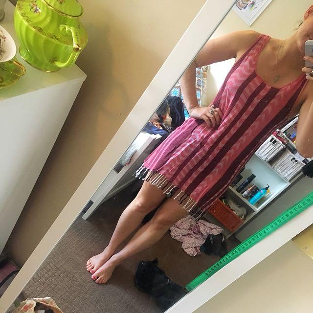 Rusty Tassel Beach/festival Dress