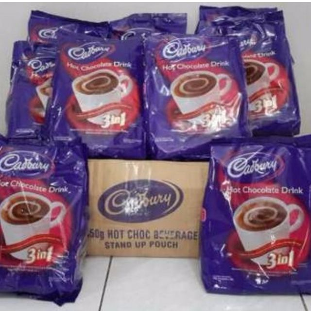 SALE!!! Cadbury Hot Chocolate Driink 3 in 1