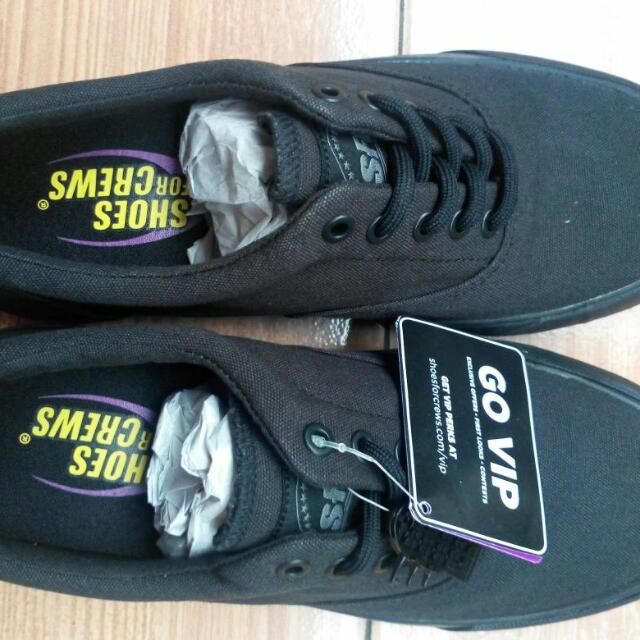 Sepatu SFC Bertali Bahan Kanvas