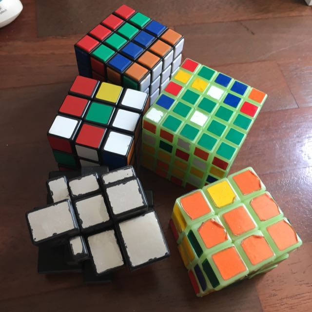 Sets Of Rubic Cubes