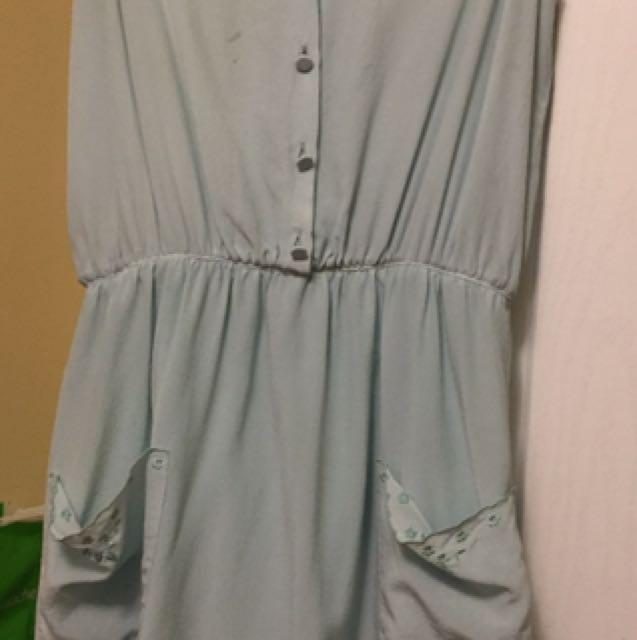 Silk Babaton Dress Size Xs