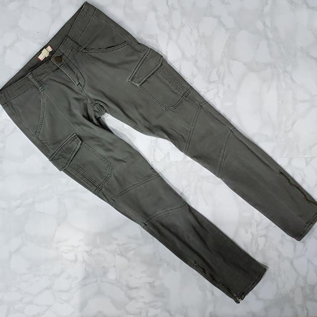 FOREVER 21   Skinny Cargo Jeans