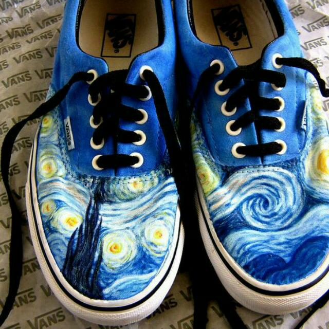 Starry Night Van Gogh's Custom Shoes