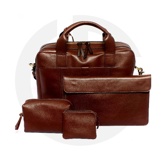 Tas Kulit model Fossil Defender Workbag (paket) (genuine leather)