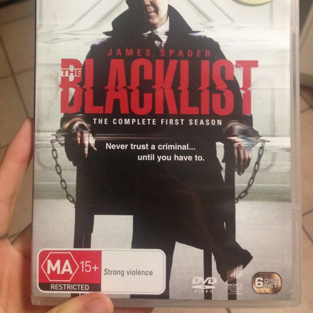 The Blacklist Season 1 Disc Set