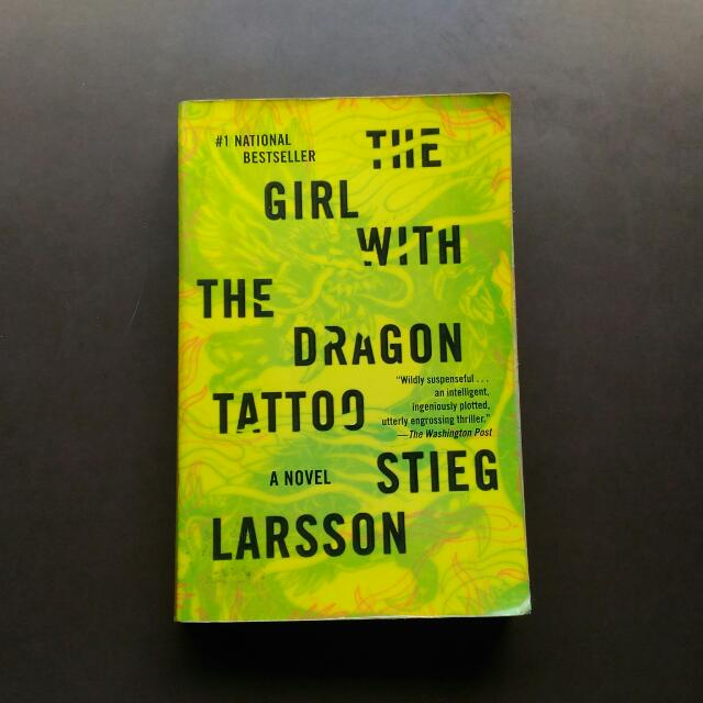 The Girl With The Dragon Tattoo By Steig Larsson