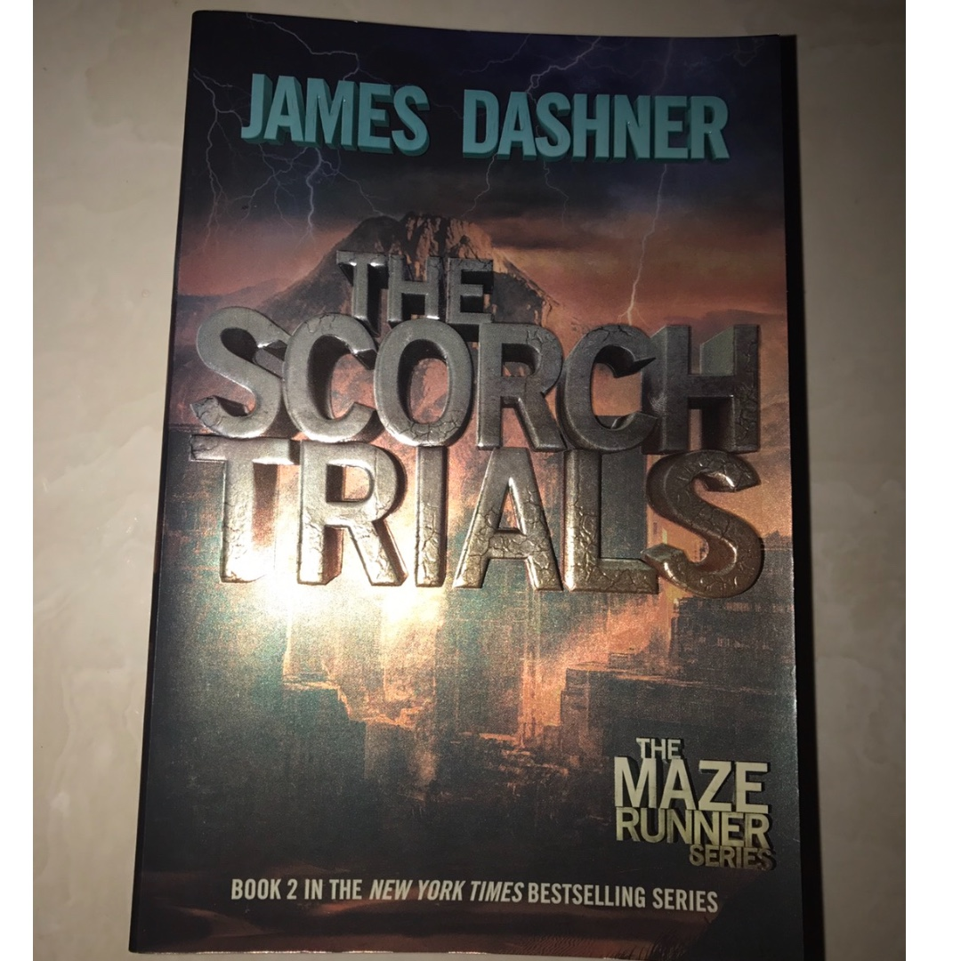 The Scorch Trial by James Dasher
