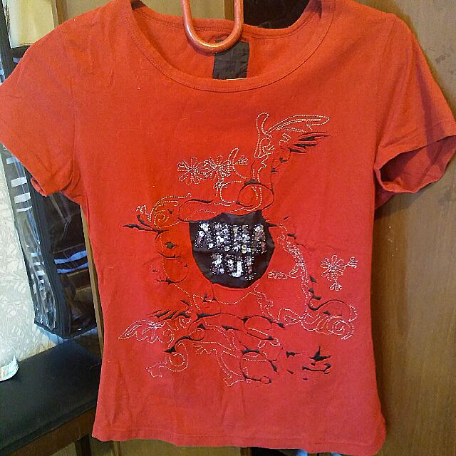 Top Anna Sui Red