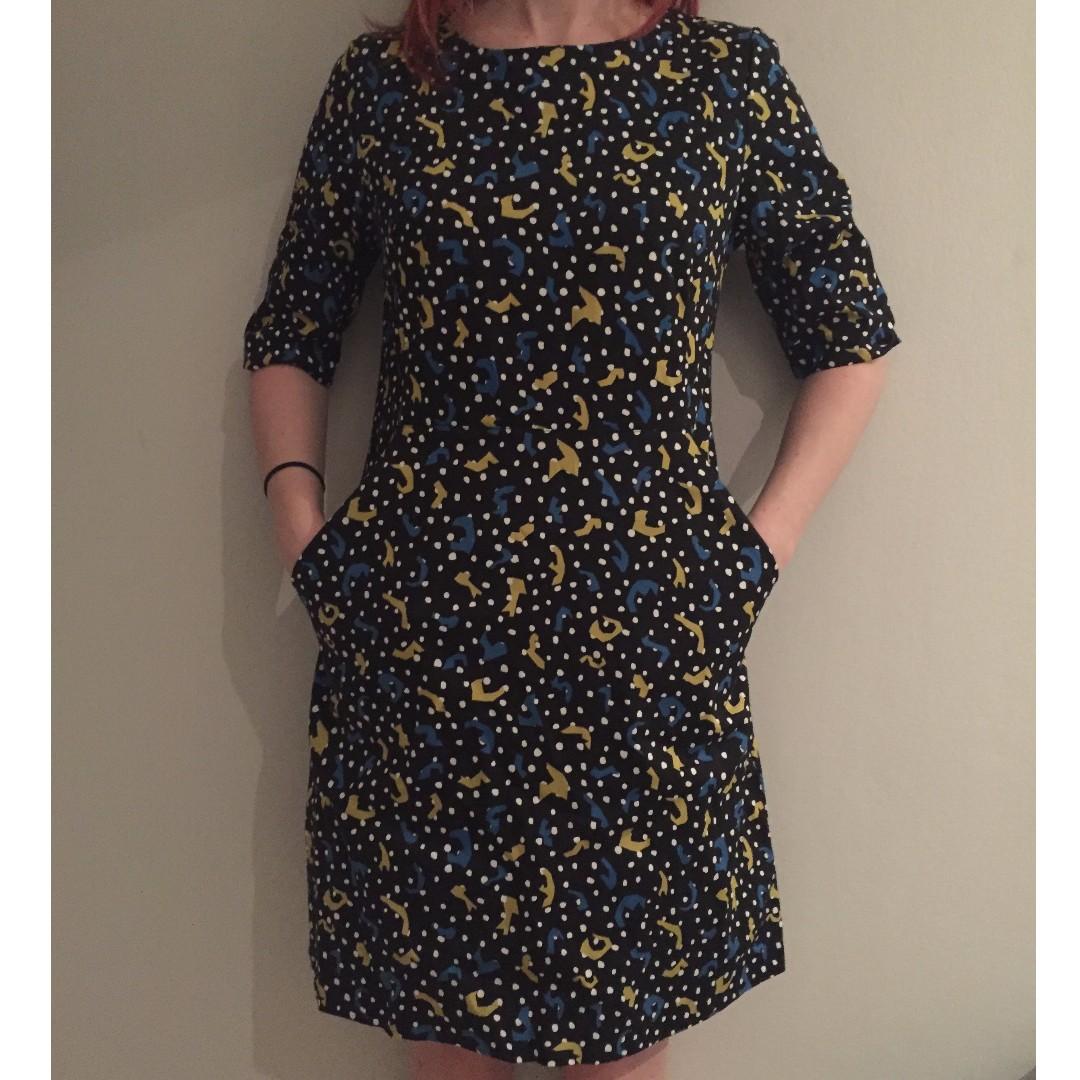 trendy gorman dress (size 8) feat. pockets