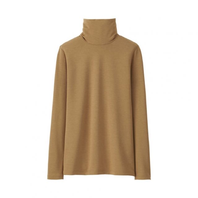 Uniqlo HEATTECH Turtle Neck Long Sleeve