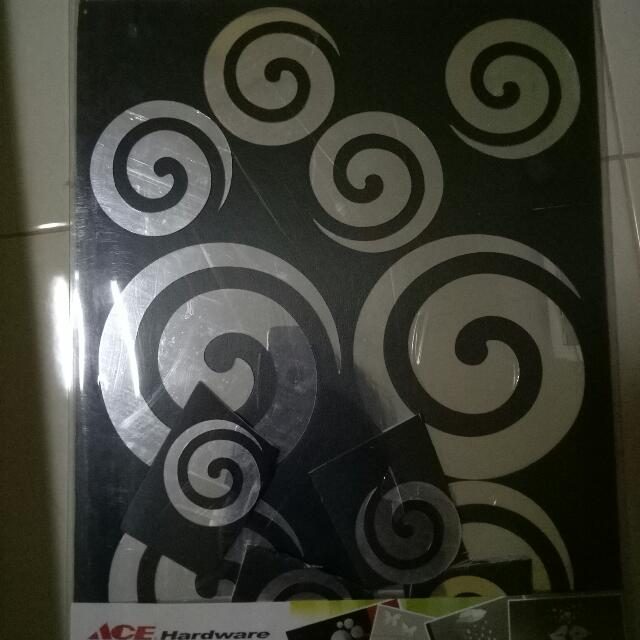 wallsticker ace hardware, home & furniture on carousell