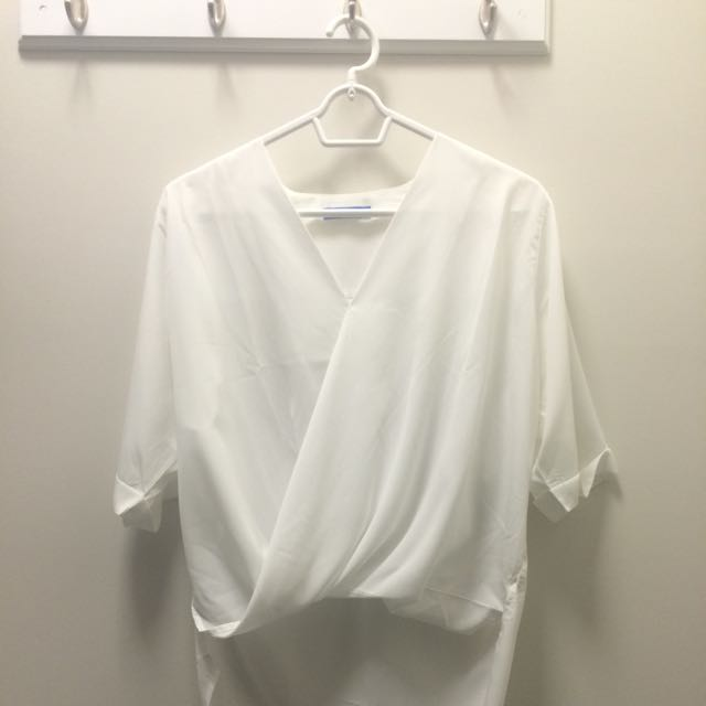 Wrapped Blouse
