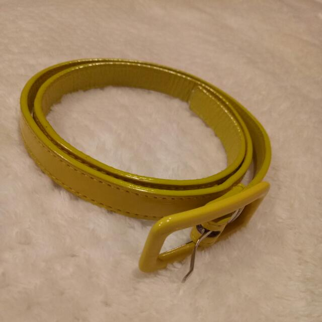 Yellow Waist Belt