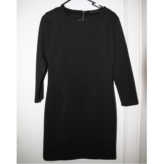 Zara basic little black dress