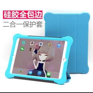 🚚 蘋果ipad保護套mini1/2/3矽膠套防摔 全包