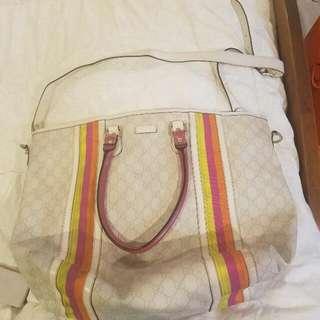 Gucci Tote Bag Tricolor