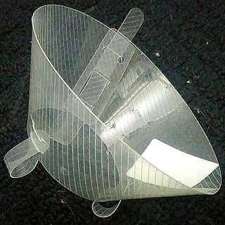 Kruuse BUSTER Classic Transparent Collar 7.5cm