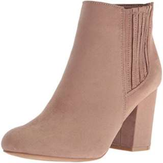 Beige Ankle Boots