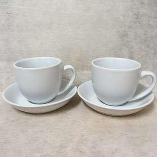 全新 白色 Espresso Cups (Set of 2)
