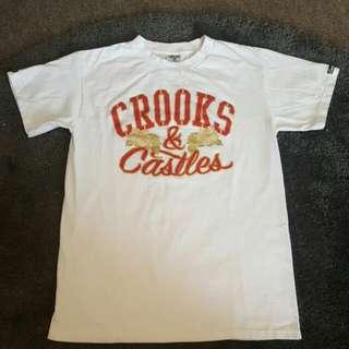 CROOKS&CASTLES T-SHIRT
