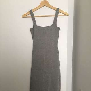 American Apparel Ponte Mid-length Dress