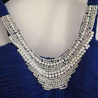 Royal Blue Dress