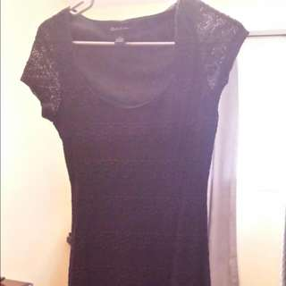 Black Lace Dress S/P