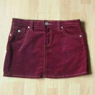 90s Vintage Mini Skirt