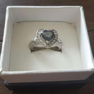 925 Heart Shaped Ring