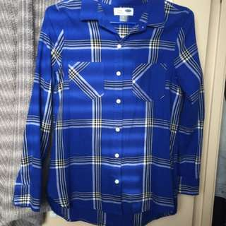 Old Navy Plaid Shirt size XS