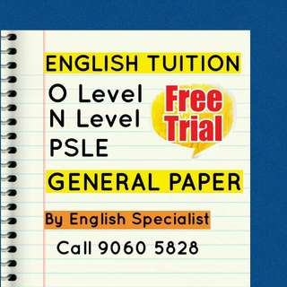 Tuition By English Specialist