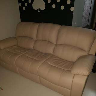 Recliner 3 seater sofa