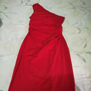 Red dress Used Once Only